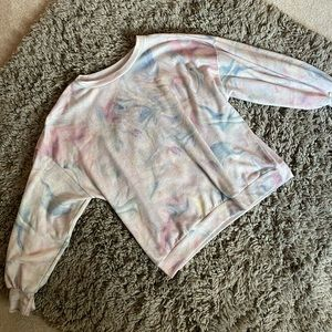 TieDye/Trippy Fleece Pullover